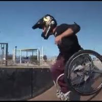 Экстрим на инвалидных колясках