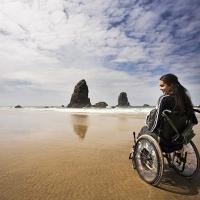 инвалиды на коляске