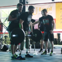"""""""Игры героев"""": военные, потерявшие конечности, показали мастер-класс по кроссфиту"""
